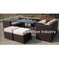 MTC-238 outdoor rattan cube dining set, wicker furniture,garden dining set Manufactures