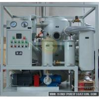 9000 Liters / Hour Oil Dehydration Machine Vacuum Oil Purifier For Power Transformer Of SIEMENS Manufactures