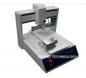 High Precise Automatic Glue Dispenser Stable Desktop Epoxy Glue Dispenser Manufactures