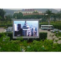 China P16 2R1G1B Electronic Visual Outdoor Advertising LED Screen on sale