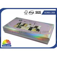 Quality Custom Made Perfume Rigid Packaging Box With Plastic Blister Tray Inserts for sale