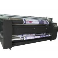 China Digital Fabric Plotter On Satin Polyester Cotton , Max Printing Width 2100mm on sale