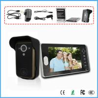 "China 2.4G 7"" Wireless Video Door Phone Intercom Doorbell IR Camera Home Security on sale"