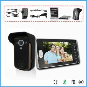 "China 7"" LCD Wireless 2.4G Home Video Intercom Doorbell IR Camera Door Phone System on sale"