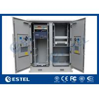 Two Compartments Base Station Cabinet Outdoor Telecom Cabinet Manufactures