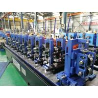 High Frequence Straight Seamy Welded Tube Mill , ERW Galvanized Pipe Manufactures