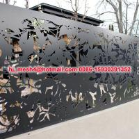 Buy cheap Hot Sale laser cut metal fence panel from wholesalers