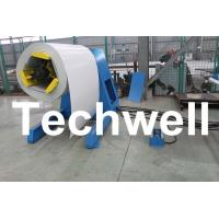 5 Ton Hydraulic Auto Decoiler / Uncoiler Curving Machine With Uncoiling Speed 0 - 15m/min Manufactures