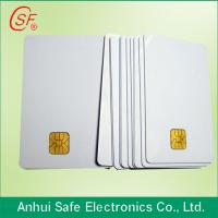inkjet pvc card/contact IC card/contact smart pvc card/plastic inkjet pvc card Manufactures