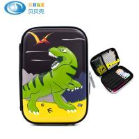Quality Custom EVA Pencil Case With Cartoon Pattern , Durable Hard Shell Pencil Case for sale