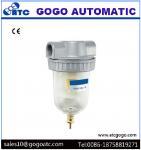 Quick Exhaust Valve , Pneumatic Air Source Treatment Air Filter Regulator High Efficiency Manufactures