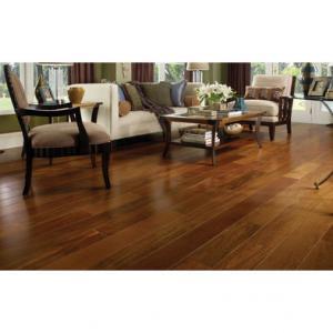 BC216 Solid Teak Color Chestnut Finger Jointed Wood Flooring Manufactures