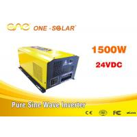 Dc To Ac Off Grid Pure Sine Wave Inverter 1000w 1500w 2000w 24vdc To 220vac Manufactures