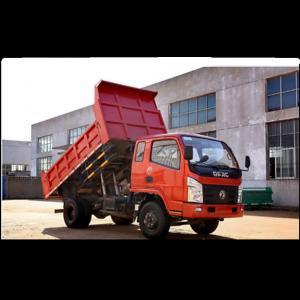 Buy cheap Dongfeng brand 6 wheeler cargo truck 4x2 5tons light tipper truck from wholesalers