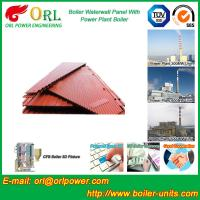 Power Plant Oil Fired Boiler Water Walls Once Through High Heating Efficiency Manufactures