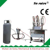 China Industrial silicone oil aerosol filling machine on sale