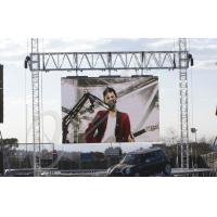 P6.25 Clear Waterproof Led Screen Outdoor With Die Casting Aluminum Frame Manufactures