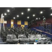 Customized 5D Movie Theater Simulator With Energy - Efficient Motion Seat Manufactures