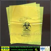 Custom Yellow Autoclave Medical Garbage Bag Manufactures