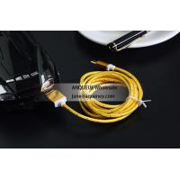 Colorful 1.5m USB 2.0 Nylon Braided Micro USB Cable For Samsung Android Mobile Phone Manufactures