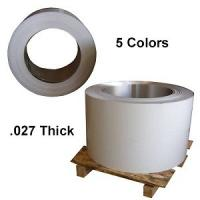 Quality .027 thick color coated aluminum coil with PE coating for gutter for sale