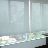 China Motorized shades/roller blind blackout, solar and blackout fabric are available on sale