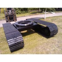 China high quality drilling rig steel track undercarriage with slew bearing on sale