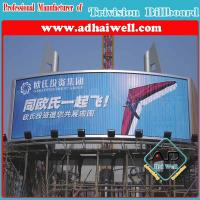 Outdoor Advertising Trivision Display Using Vinyl Manufactures