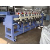 Work Uniforms / Seat Covers / Cap Embroidery Machine , 400 X 450 Mm Embroidery Area Manufactures