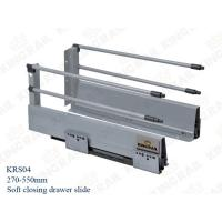 China High quality 45mm Width Full extension drawer slide ,soft closing style KRS04 on sale