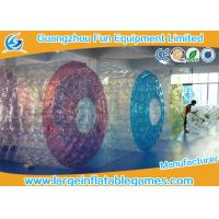 Commercial Polyether TPU Jumbo Inflatable Water Roller Inflatable water ball with CE Manufactures