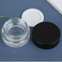 China 3g / 10g Frosted Cosmetic Cream Jar For Eye Cream Reusable High Strength Material on sale