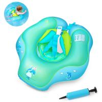 U-shape Under Arm Infant Inflatable Swim Ring PVC Pool Float For 2-6 Years Old Blue Manufactures