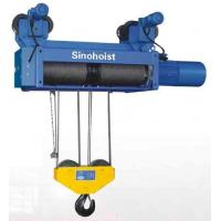 Euro Model Insulated Hoist With Frequency Inverter 30 Ton , Monorail Trolley Hoist Manufactures