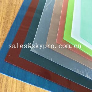 China High Rigidity Glossy PVC Plastic Product Transparent Rigid Plastic PVC Sheet For Plastic Coating on sale