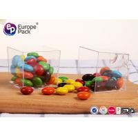 FDA Free Square Disposable Cups Clear Plastic Dessert Containers 60ml Manufactures
