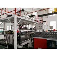 China SPC Vinyl Flooring Machine , Waterproof Interlocking Floor Tile Machine on sale
