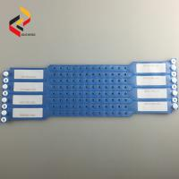 C14 Custom Disposable RFID Vinyl wristband Passive with Compatible 1K/F08 chip for activity Event Manufactures