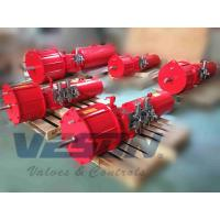 Double Acting Scotch Yoke Pneumatic Actuator For Waste Water Treatment Plants Manufactures