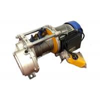 300kg to 1000kg Multi-function Mini Electric Wire Rope Construction Winch Hoist Manufactures