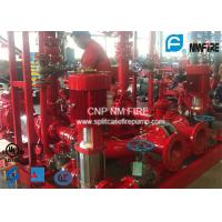 High Pressure Skid Mounted Fire Pump 450GPM/105PSI With Ductile Cast Iron Casing Manufactures