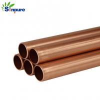 Durable And Precise Small Brass Copper Tube Blunt End For Refrigerator Manufactures