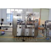 1000BPH Glass/PET Bottle Beer Filling Machine 3 In 1 Beer Filler 500ml Stainless Steel CE ISO Manufactures