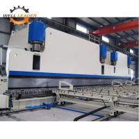 China Low Noise CNC Hydraulic Sheet Metal Bending Machine E21 / DElEM Fast Speed on sale