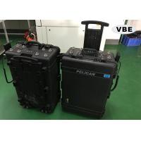 Black Color Portable Signal Jammer 50Ω Input Impedence Direct Grounding Lightning Protection Manufactures