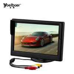 Small Screen AV TV 5 Inch TFT Car LCD Monitor For 12V Car Reverse CCTV Display Manufactures