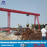 China 2 Ton 4 Ton 6 Ton 8 Ton 10 Ton 12 ton Mobile Gantry Cranes for Sale on sale