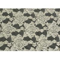 Custom Nylon Spandex Brushed Lace Fabric Anti Static 125cm Width CY-LQ0038 Manufactures