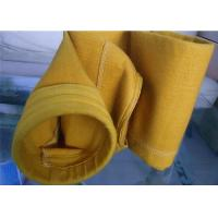 Industry P84 Dust Collector Filter Bags With PTFE Membrane 500~550 GSM Manufactures