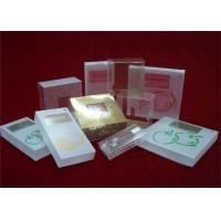 China Customized Clear Plastic Packaging Box Waterproof For Food / Gift on sale